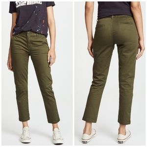Current / Elliot | The Confidant Army Green Pants